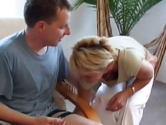 Vokietijos amžiaus moteris tiesiai klipas