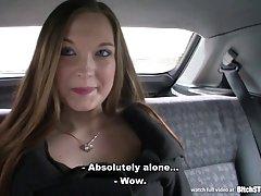 kalė sustabdyti - busty Čekijos mergina gauna pakliuvom rūsyje