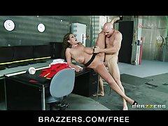 Brazzers - busty raguotas orų mergaitė eva Janina dulkina jos bosas